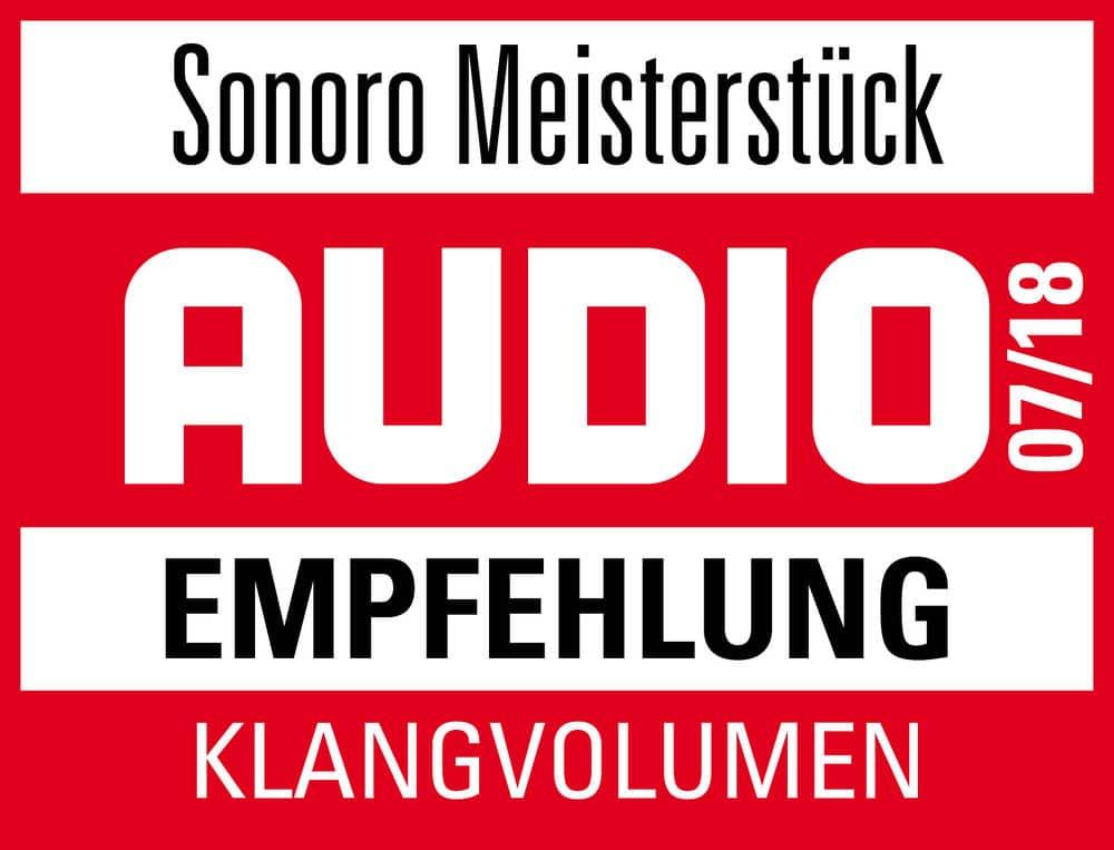 Awards von MEISTERSTÜCK sonoro
