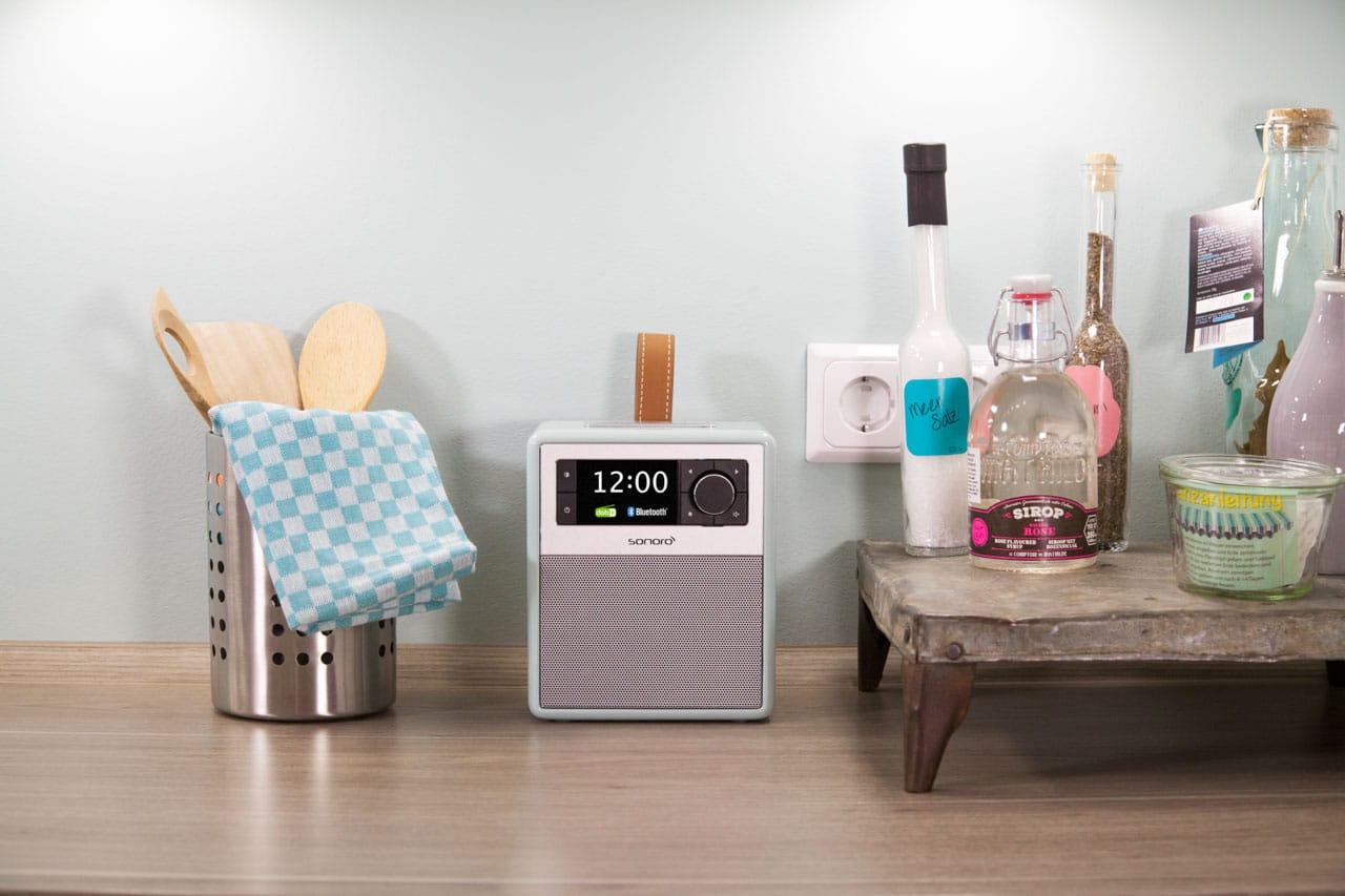 Inspiration für die Küche – sonoro Audiosysteme