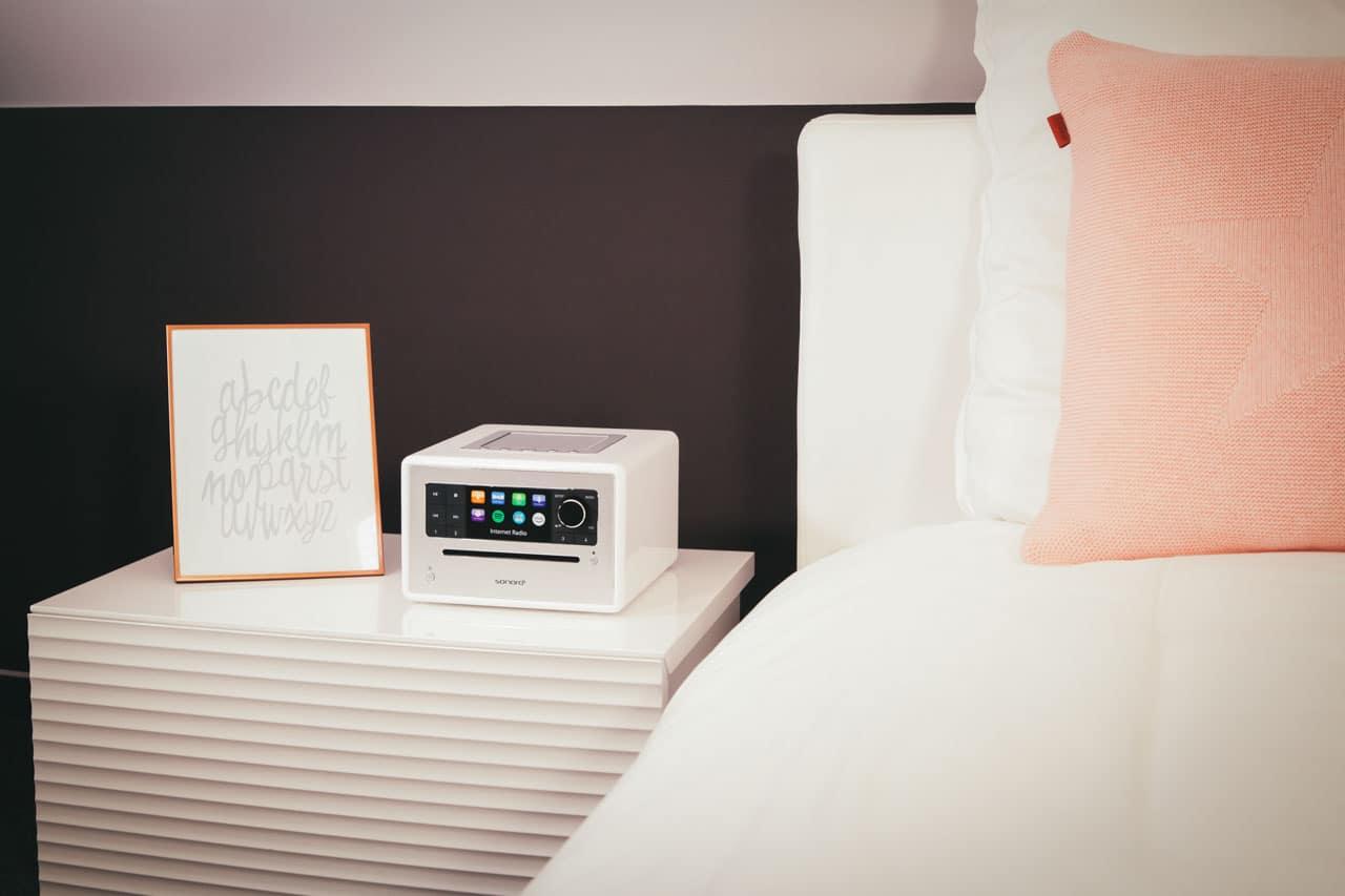 Inspiration für Ihr Schlafzimmer – Audiosysteme von sonoro